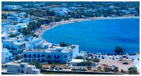 Naxos Hotel Galini with sea view